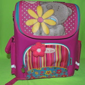 Рюкзак (ранец) 1 Вересня школьный каркасный 551690 Мишка Тедди 2710-2 35,5*16*28см