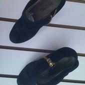Ботинки женские Michael Kors (кожа+замша)