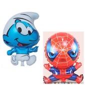 Большие шарики герои мультфильмов - до 66 см. Один на выбор. Наличие в описании