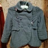 TU пальто піджачок 3-4роки