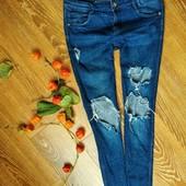 Рваные джинсы-скинни от Zara