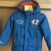 куртка, деми, р. 4 года 104 см. outwear by Lindex. состояние отличное