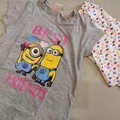 Minion пижама девочке 134-140 см