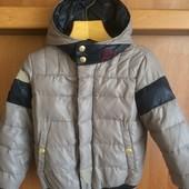 куртка, 70%пух+30%перо, р. 5-6 лет 110-116 см. Benetton class. состояние отличное