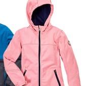 стильная куртка Softshell, внутри флис, на девочку от Crane.Есть нюанс