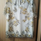 Шикарная лёгкая блузка !р.50