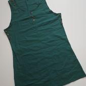 Летнее платье-сарафан с кармашками на наш 48р. Смотрите замеры.