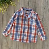 Рубашка на мальчика 1,5-2 года. В хорошем состоянии.