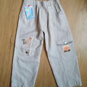Легкие брюки для мальчика. Наличие в описании.