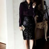 Стильная нарядная юбка карандаш Heidi Klum Esmara Германия