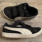 Замшевые кроссовки Puma оригинал 31 размер стелька 19 см
