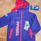 Курточка на 2-3р може і раніше осінь весна