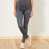 Узкие брюки стретч для беременных kiabi