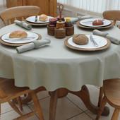 ❤️Meradiso Германия❤️фирменная не промокаемая скатерть на круглый стол диаметр 160 очень классная!!