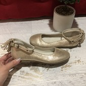 Туфлі із натуральної із водонепроникним напиленням,розмір 37