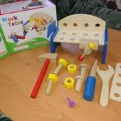 Рекомендую. Качественный деревянный набор, станок + инструменты.