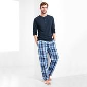 ☘ Мужские брюки для сна и отдыха из био хлопка Tchibo(Германия), рр. наш: 56/58(ХL евро), нюанс