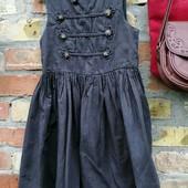 Платье для девочки на рост 110, 100% хлопок