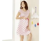 Esmara Германия Летнее шикарное платье для беременных и кормящих 100% коттон 40р евро