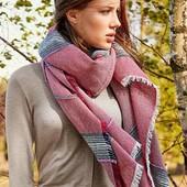 ☘ Шикарный тканый шарф-шаль от Tchibo(Германия), размер универсальный, 85х190см