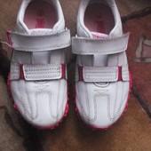 Кожаные кроссовки для девочки. Lonsdale London Состояние отличное! Размер 28 по стельке 15,5 см