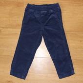 Вельветовые штанишки Carters девочке, 18м, состояние новых