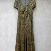 Шелковое платье, р. 50