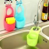 Держатель силиконовый для кухонной губки, мочалки, зубной пасты, щеток, мелочей