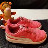 Яркие легкие кроссовки Puma, разм. 25 (15,5 см по бирке, реально 16,5 см). Сост. очень хорошее!