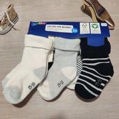 Германия!!! Лот из 5 махровых носочков для малыша! 15-18 размер!