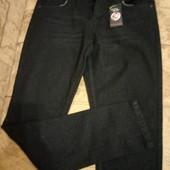 Классные черные джинсы р.34