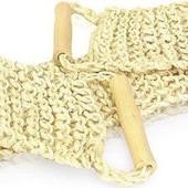 Мочалка крупного плетения из кокосового волокна ( сизаль)