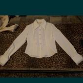Блуза белая новая S/M