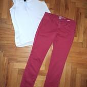 ❤Отличный набор брюки кирпичного цвета и молочная маечка с замочком М-Л❤