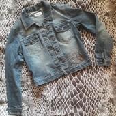 Стильная джинсовая куртка❤️ р.S-M