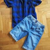 Одним лотом. Рубашка+шорти на 11-13 років