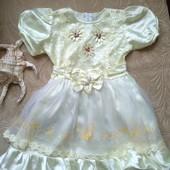 Нарядное платьице ( от 3-х до 5 лет)