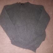 Стильная темно-серая шерстяная кофточка с очень оригинальным дизайном. Скоро осень)