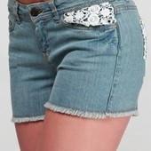 Стильные шорты джинс Esmara (Германия), размер евро 38
