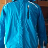термо Куртка деми, внутри флис, размер 12 лет 152 см, Kidz Alive. состояние отличное