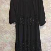 Лёгкое комбинированое платье