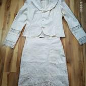 Костюм женский пиджак+юбка.