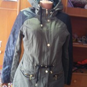 Куртка, парка, деми, р. XL. F&F. состояние отличное