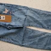 Шикарные лёгкие штанишки, размер 122