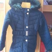 Куртка, еврозима, внутри шерпа, размер 6-7 лет 122 см. Young Dimension