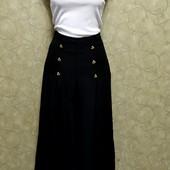 Собираем лоты!! Супер модный комплект, юбка - шорты(кюлоты) с высокой посадкой +топ, размер xs-s