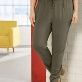 Легкие летние женские брюки гарем,100% вискоза, Esmara. Размер евро 52