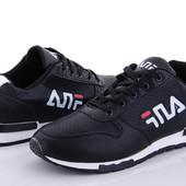 Мужские/подростковые/кроссовки Fila с перфорацией.