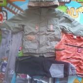 Пакет одежда для мальчика 2-3 года.