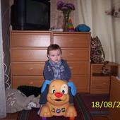 Fisher Price Детская каталка-ходунки Веселый Щенок